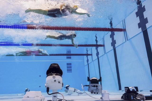 La natation est le seul sport où l'athlète... (AFP, François-Xavier Marit)