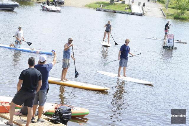 Environ 25 personnes ont pris part aux compétitions... (Photo Le Progrès-Dimanche, Gimmy Desbiens)