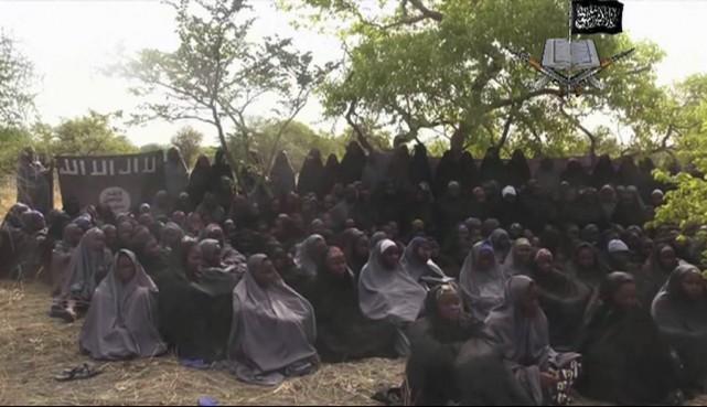 Une première vidéo des étudiantes de Chibok avait... (PHOTO ARCHIVES AP)