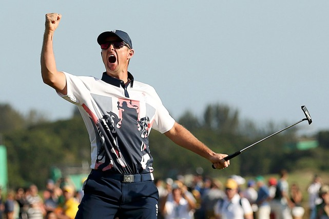 Justin Rose... (PHOTO ANDREW BOYERS, REUTERS)