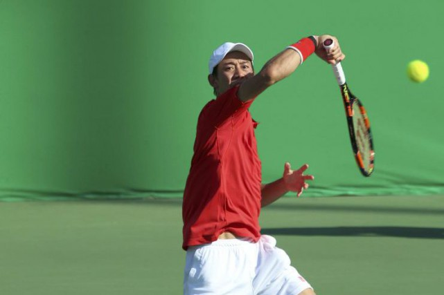 Kei Nishikori... (PHOTO KEVIN LAMARQUE, REUTERS)