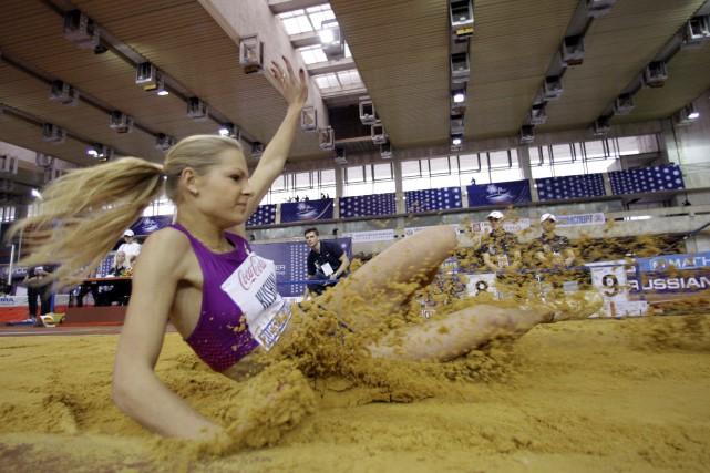 DaryaKlishina a été exclue des Jeux.... (AP)