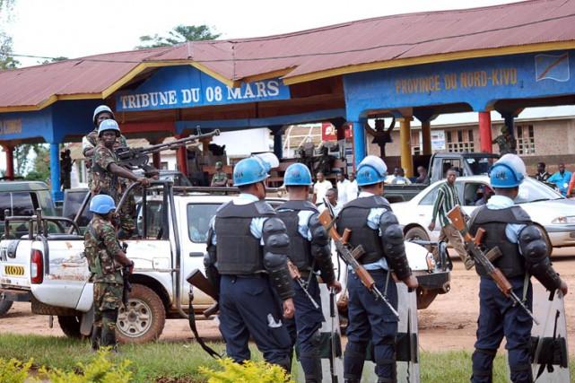 Le 8 août, onze militaires congolais et un... (ARCHIVES AFP)