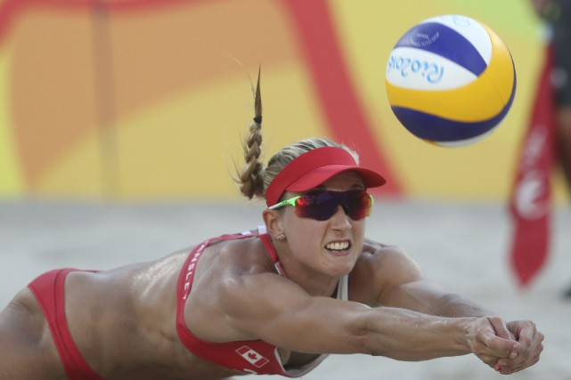 Heather Bansley (photo) et Sarah Pavan ont vu leur aventure... (AP, Petr David Josek)