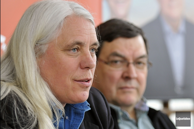 La députée de Québec solidaire, Manon Massé, croit... (Rocket Lavoie, Archives Le Quotidien)