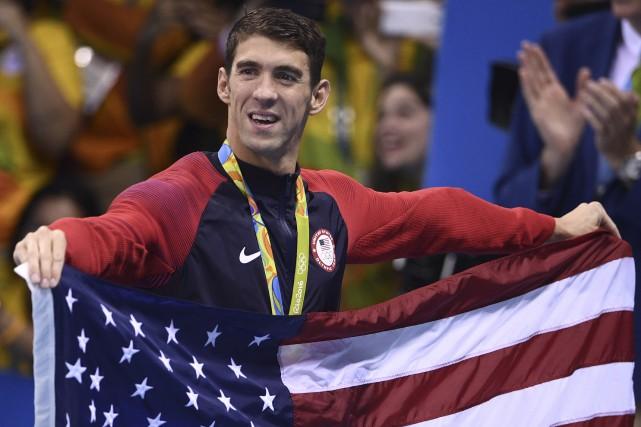 Michael Phelps ne nagera plus, mais il a... (AFP, Martin Bureau)