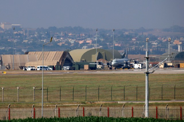 La base aérienne d'Incirlik en Turquie.... (PHOTO ARCHIVES AGENCE FRANCE-PRESSE/STR)