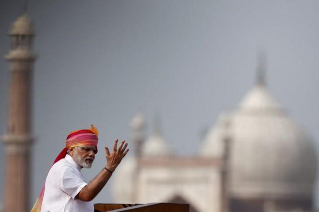 Narendra Modi... (PHOTO ADNAN ABIDI, REUTERS)