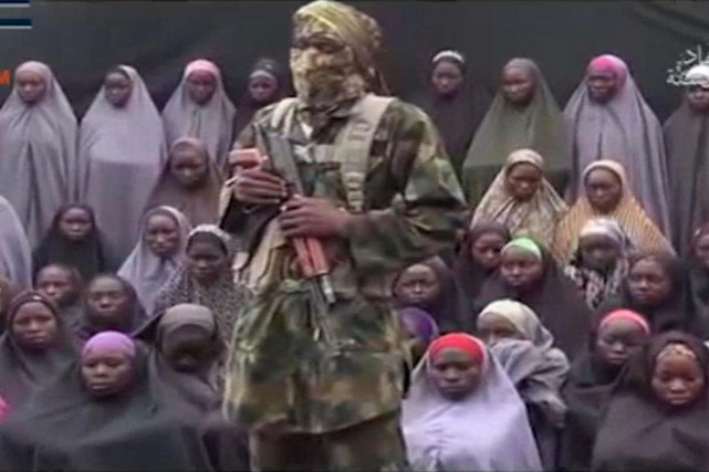 Dimanche, Boko Haram a diffusé une nouvelle vidéo... (AFP)