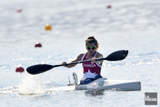 Andréanne Langlois... (PHOTO DAMIEN MEYER, AFP)