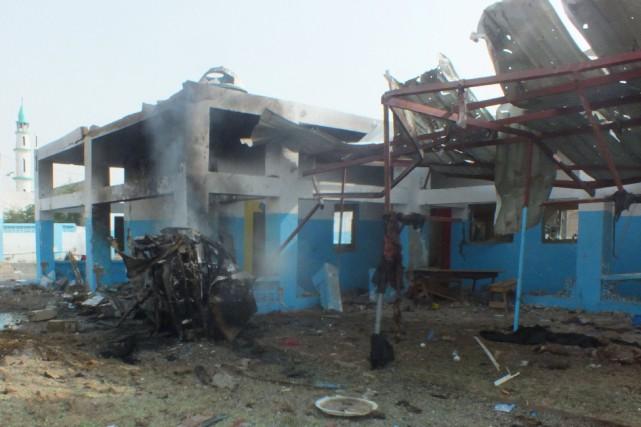 MSF, sur son compte Twitter, a indiqué que... (PHOTO REUTERS)