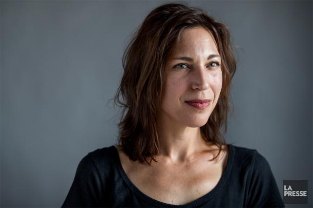 Il y a 17 ans, l'auteure et comédienne Evelyne de la Chenelière écrivait la... (PHOTO MARCO CAMPANOZZI, LA PRESSE)