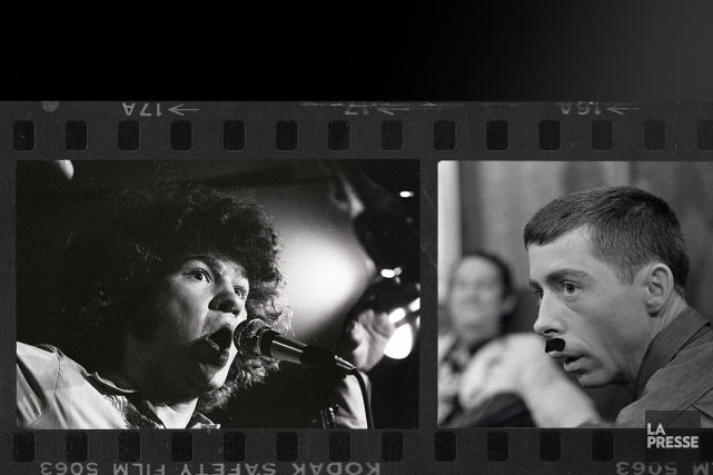 Ils ont photographié des centaines de vedettes dans les années 60 et 70. Au... (Photomontage La Presse)