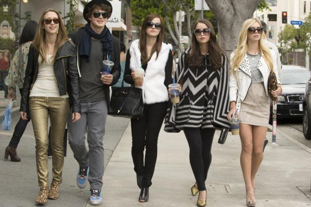 The Bling Ring de Sofia Coppola, drame. Avec... (Photo fournie par Les films Séville)