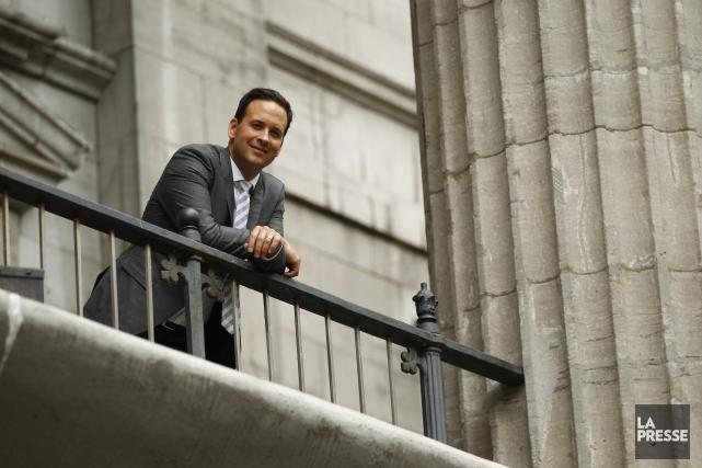 Alexandre Cloutiers'engage à consacrer un milliard de dollars... (PHOTO MARTIN CHAMBERLAND, LA PRESSE)