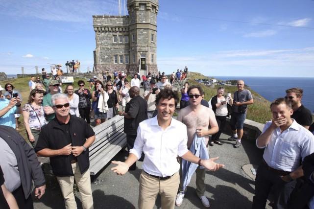 Dans la photo publiée sur Twitter, on aperçoit... (La Presse Canadienne)