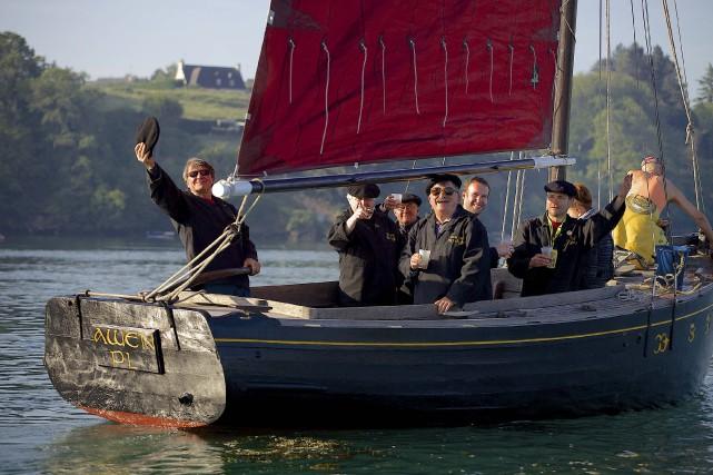 Les Bretons de Ouf du Dyjau sont en... (fournie par la Fête des chants de marins)