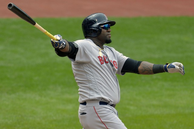 David Ortiz a claqué un circuit de deux... (Photo David Richard, USA Today Sports)