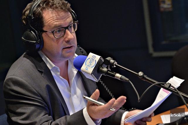 Depuis quelques semaines, Bernard Drainvillecommente la politique plutôt... (Photothèque Le Soleil, Patrice Laroche)