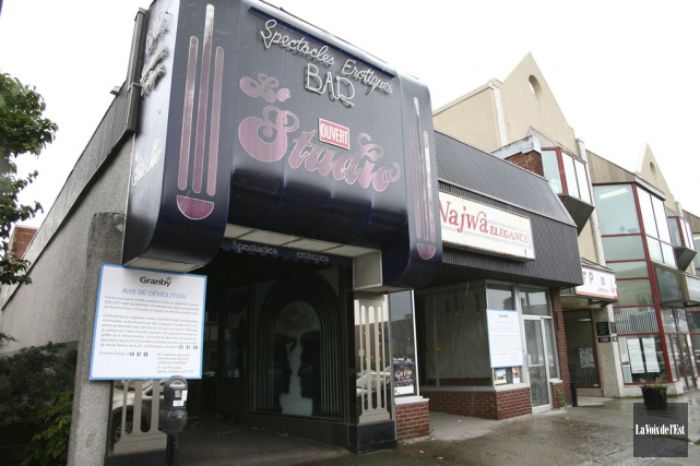 La Ville de Granby a exproprié le bar... (archives La Voix de l'Est)