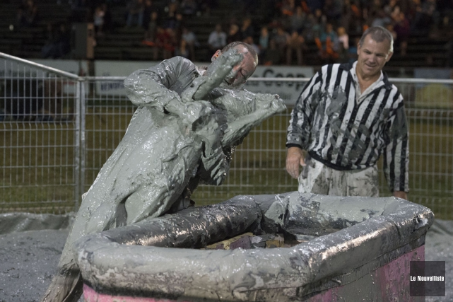 C'est vrai que le traitement des cochons au... (Stéphane Lessard, Le Nouvelliste)