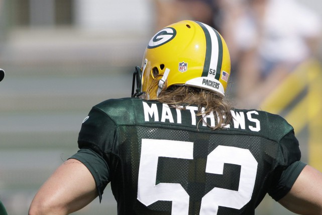 Clay Matthews, des Packers de Green Bay, fait... (AP)