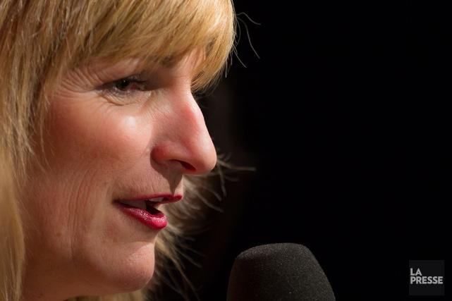 Marie-France Bazzo, qui a mis un terme à son émission hebdomadaire à... (Olivier Pontbriand, Archives La Presse)