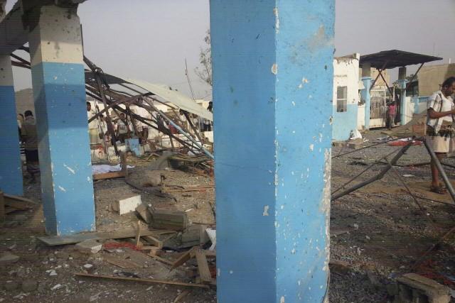 Situé dans la province de Hajja, l'hôpital d'Abs,... (AFP)