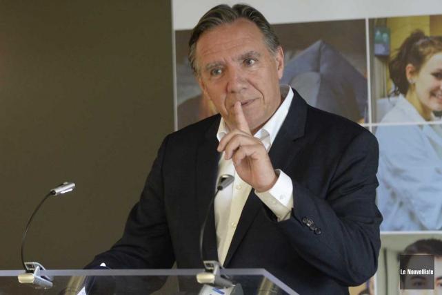 François Legault s'est dit contre la proposition d'Alexandre... (Sylvain Mayer, Le Nouvelliste)