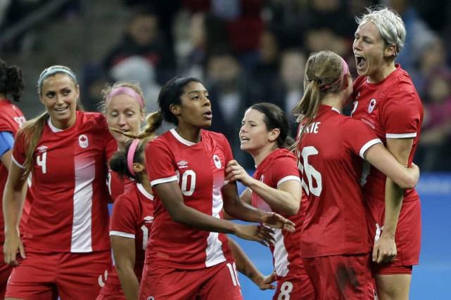 La formation canadienne peut-elle vaincre l'Allemagne deux fois... (AP)