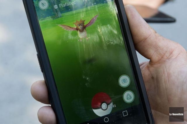 Le nouveau phénomène Pokémon Go est si populaire... (Photo archives Le Nouvelliste)