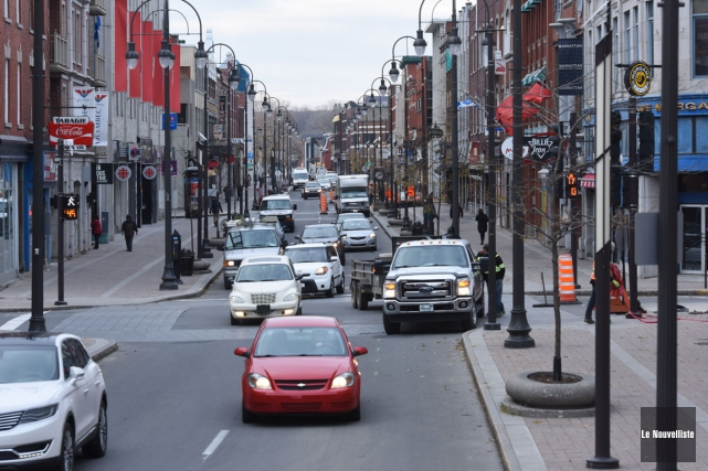 Le centre-ville de Trois-Rivières est trop bruyant, déplorent... (François Gervais, Le Nouvelliste)