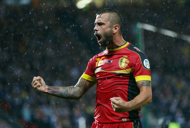 Steven Defour... (PHOTO IAN MACNICOL, ARCHIVES AFP)