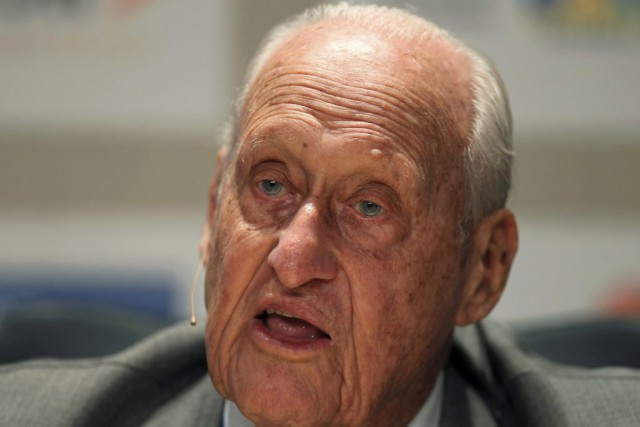 Joao Havelange... (PHOTO Bruno Domingos, archives Reuters)