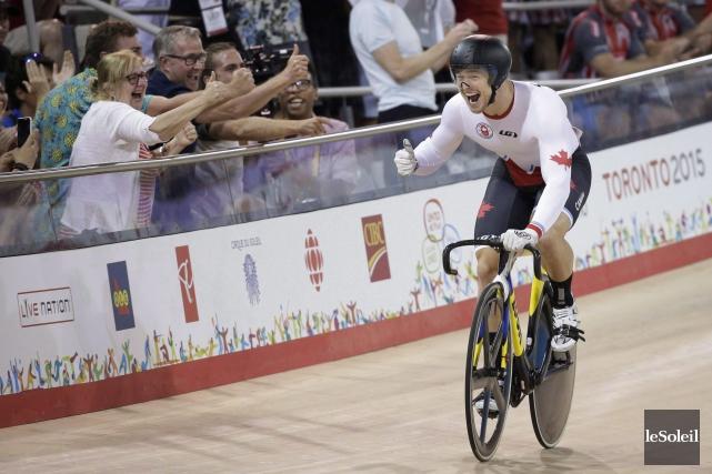 Hugo Barrette avait mieux performé au Jeux Pan... (Photothèque Le Soleil)