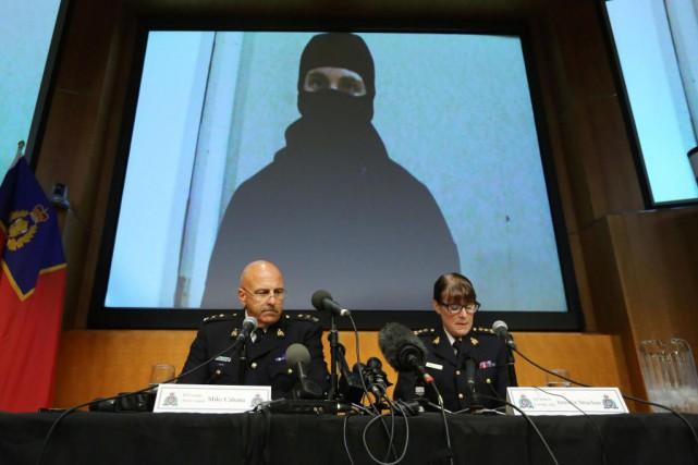 Le sous-commissaire Mike Cabana, patron des enquêtes de... (PHOTOLars Hagberg, Archives Agence France-Presse)
