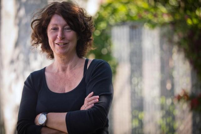 Thérèse Bérubé est scripte dans le milieu du... (Photo Olivier Jean, La Presse)