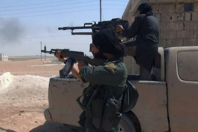 Les djihadistes ont été chassés le 6 août... (PHOTO AP)