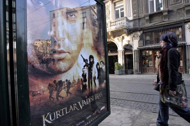 L'affiche d'un précédent film de la série, soit... (PHOTO ARCHIVES AFP)