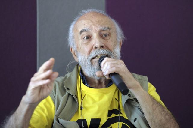 Chico Whitaker, l'un des pères fondateurs de la... (AFP, Marc Braibant)