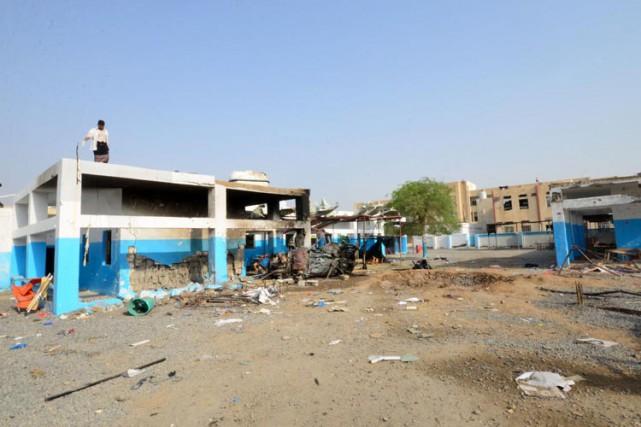 MSF a souligné avoir «plusieurs fois partagé la... (PHOTO AFP)