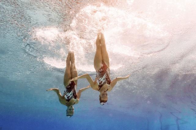 Karine Thomas, et Jacqueline Simoneauont obtenu un score... (François-Xavier Marit, AFP)