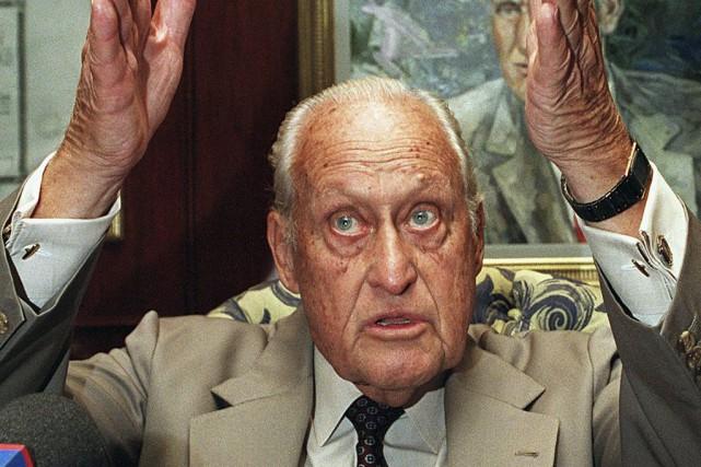 Craint autant que respecté, le Brésilien Joao Havelange... (Archives AFP)