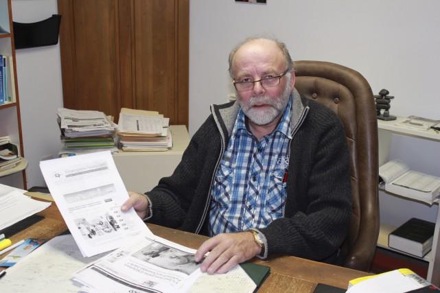 Gervais Turbide est à l'origine d'une pétition demandant... (Collaboration spéciale Gilles Gagné)