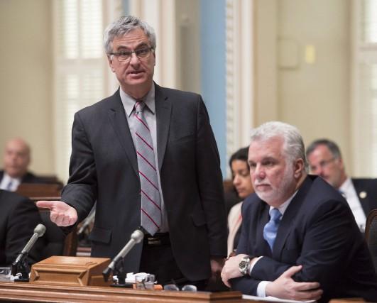 Le ministre québécois des Relations canadiennes et de... (La Presse Canadienne, Jacques Boissinot)
