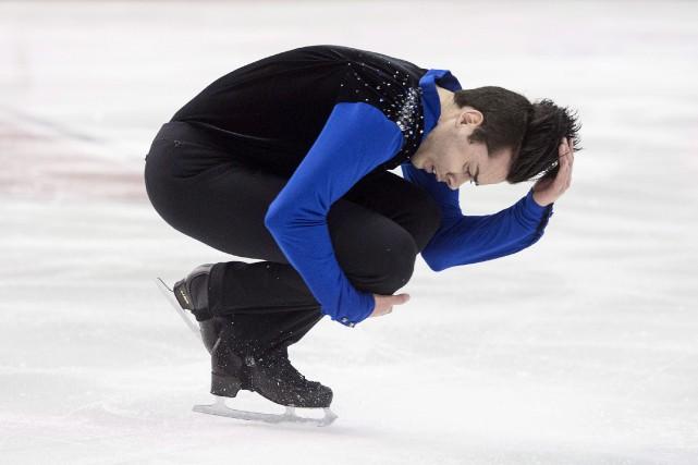 Samuel Angers a décidé d'officiellement accrocher ses patins.... (Darren Calabrese, Archives PC)