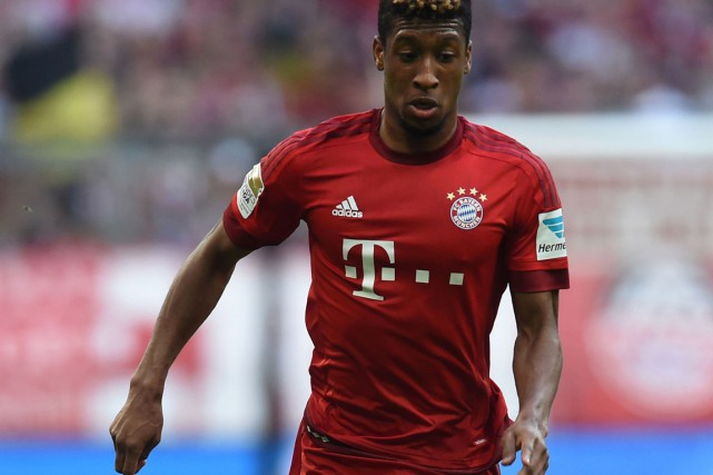 Kingsley Coman... (PHOTO CHRISTOF STACHE, archives AFP)