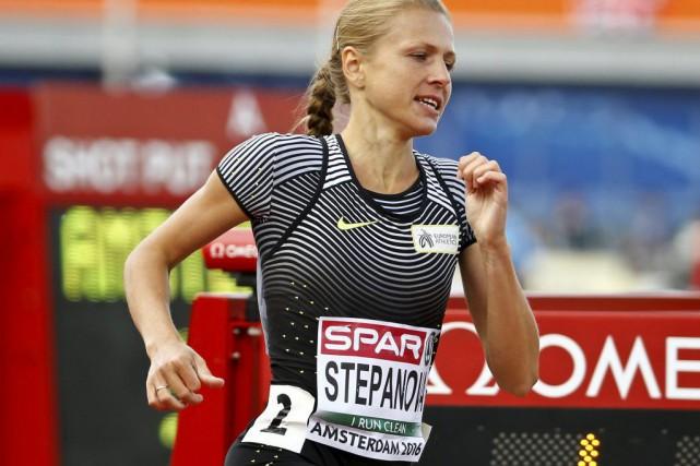 Yuliya Stepanova... (PHOTO Michael Kooren, Reuters)