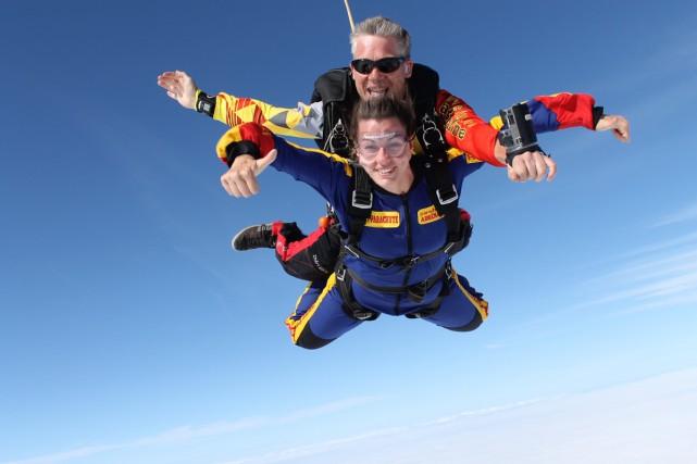 Le parachutisme... (Photo fournie par Parachutisme Adrénaline)