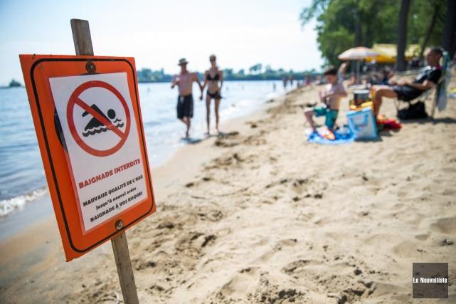 Les plages de l'île Saint-Quentin (notre photo) et... (Olivier Croteau Le Nouvelliste)